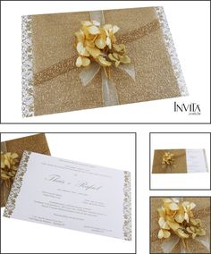 Convites com Flores