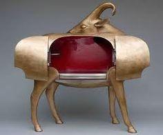 "miguelbonneville: "" Francois-Xavier Lalanne Mouflon de Pauline (grand, bar), 1993 bronze 51 x 46 x 19 inches 131 x 118 x 48 cm Edition of 8 PKE 10310 "" — FABULOUS! I've needed a GNU Bar and. Funky Furniture, Furniture Design, Furniture Ideas, Unusual Furniture, Bespoke Furniture, Living Furniture, Sculpture Art, Sculptures, Francois Xavier"