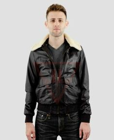 New Luxury Men/'s Casual Style HipHop Fashion Hooded Real Nappa Leather Jacket