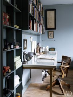 Old house architect Chris Dyson Funky Junk Interiors, Pretty House, Furniture, Interior, Home Office, Home Decor, House Interior, Library Bookshelves, Office Interiors