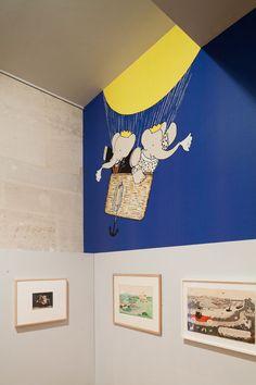 Babar Exhibition design  © Les Arts Décoratifs. Photo: Luc Boegly