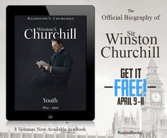 The Eight Volume Official Winston Churchill Biography, written by Martin Gilbert and Randolph Churchill, is #FREE today through April 11th! Download the life story of one of our most respected leaders here--->bit.ly/1yfQQ79 #WinstonChurchillDay #HCChurchill #eBookdeals @hillsdale1844 Winston Churchill, The Life, Biography, Love Him, Writing, Free, Biography Books, Being A Writer