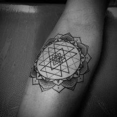 sri yantra tattoo