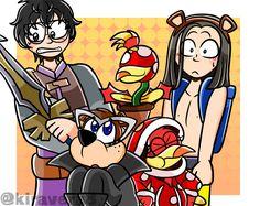 Super Smash Bros Videos, Nintendo Super Smash Bros, Creepypasta Anime, Banjo Kazooie, Pokemon Cards, Nintendo Characters, Fanart, Dragon Quest, Fun Comics