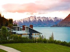 Matakauri Lodge, Queenstown, Nee Zealand. I have stayed there and I can't wait to go back!