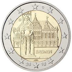€2 face commémorative Brême, je te la garde ?