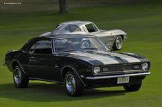 '68 Camaro & '63 Corvette