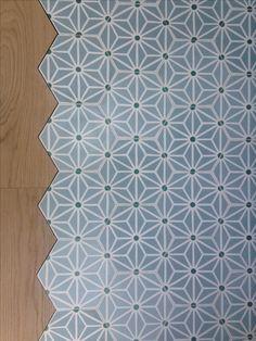 Carreaux de ciment - Cement tiles Motif Safi