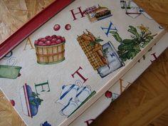 Cuaderno para Recetas Advent Calendar, Holiday Decor, Home Decor, Creative Products, Creativity, Paper Envelopes, Recipes, Decoration Home, Room Decor