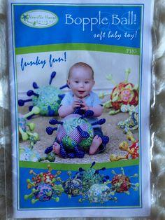 Vanilla House Designs baby Bopple Ball 183 Toy by Vntgfindz