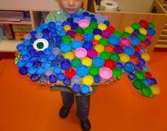 Es ist unglaublich, wie viel Spaß das Basteln mit Kleinkindern machen kann - DIY Fischlein