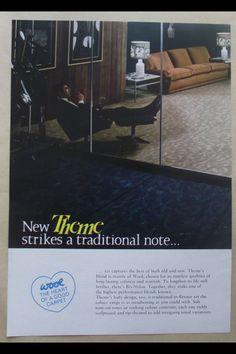 Cool vintage advert. Carpet retail Old And New, Carpet, Retail, Cool Stuff, How To Make, Life, Vintage, Design, Rug