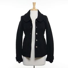 Black London Fog Coat Size: M $35.00 stacksonracks.com