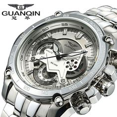 Luminous Luxury Brand Stainless Steel Watch - FREE SHIPPING