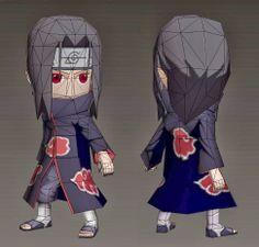 Naruto - Chibi Itachi Papercraft