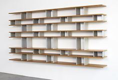 32 Charlotte Perriand Important Wall Mounted Bookcase Lot 32 Wall Mounted Bookcase