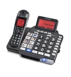 DECT Amplified Deluxe Phone with BT