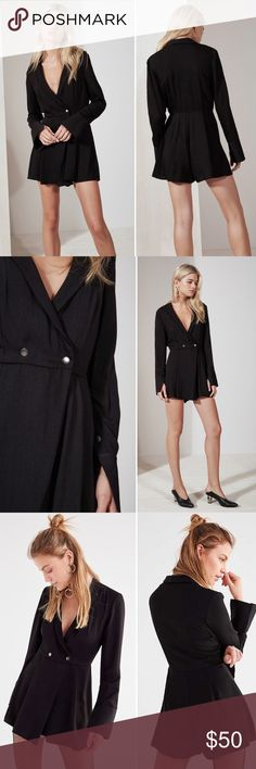 ae6e8af905d The Fifth Label Hollywood playsuit romper Strictly business in this romper  from The Fifth Label.