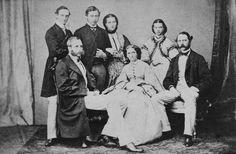 Christian IX and family