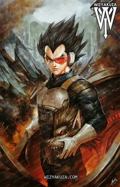 Vegeta by Wizyakuza Gatsu Senpai Dragon Ball Z, Dragon Ball Image, Wizyakuza Anime, Dragonball Super, Mighty Power Rangers, Character Art, Character Design, Fanart, Dragon Images