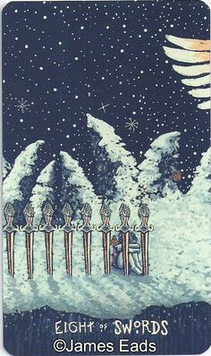 Eight of Swords - prisma visions tarot - Google Search