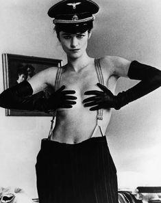 Charlotte Rampling as Lucia Atherton in 'The Night Porter (Il Portiere Di Notte)', 1974, directed by Liliana Cavani.