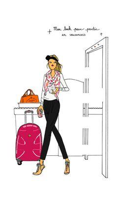 Mon look casual chic pour partir en vacances ... angeline melin