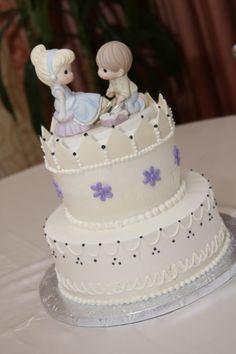 A Handfast Wedding; Precious Moments Wedding, Disney Precious Moments, Precious Moments Quotes, Precious Moments Figurines, Crazy Cakes, Fancy Cakes, Take The Cake, Love Cake, Beautiful Cakes