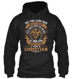 CHRISTIAN - Name Shirts #Christian