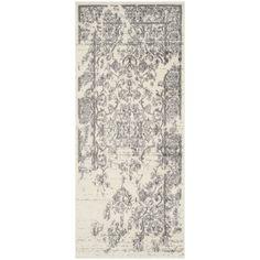 Safavieh Adirondack Ivory/ Silver Rug (2'6 x 6') - Overstock™ Shopping - Great Deals on Safavieh Runner Rugs