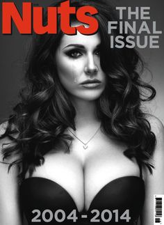 Lucy Pinder in tears for The Final Issue of Nuts UK http://bit.ly/1hjZvqF