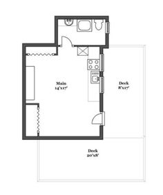 348 Sq. Ft. Cottage on Cape Cod 005