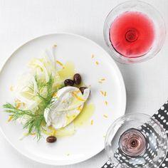 Salade de fenouil et mozzarella #salade