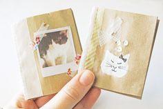 Diy back to school : DIY paper bag books