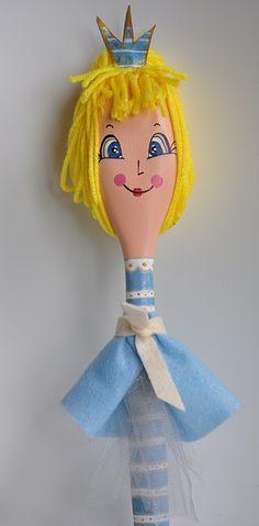 cute hand made Disney princess spoon dolls by KATijA TOMiC