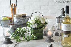 Table Decorations / Table Settingsガーデンパーティーのテーブル♡|フローラルニューヨーク・大塚智香子のスタイルのある暮らし|25ansオンライン