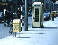 Dublin June 1961 | MajorCalloway | Flickr Old Pictures, Old Photos, Photo Engraving, Family Crest, Dublin Ireland, World History, June, Explore, Street