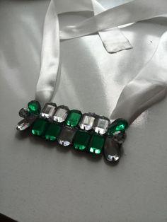 diy rhinestone necklace