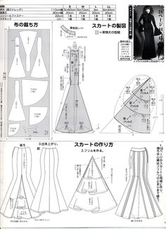 Mermaid tail pattern (Japanese)