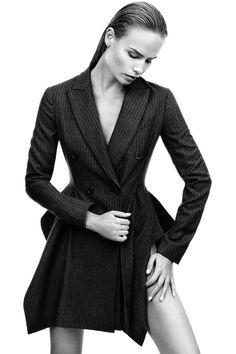 Dior jacket, $4,700, 800-929-DIOR. BEAUTY BAZAAR: Strengthen your strands with L'Oreal Professional Absolut Repair Lipidium Shampoo, $15, lookfantastic.com.    - HarpersBAZAAR.com