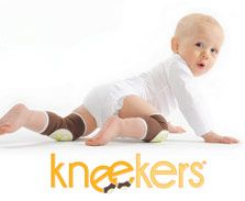 There are many shoes on the market for infants, but your baby doesn't yet move around by foot; they move around by knee!    Kneekers® slide onto your baby's knees and protect them from getting scraped and sore  $14.95