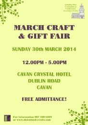 Come and see us and 30 other exhibitors including regulars and some new additions to our events at our spring craft & gift fair on Mother's Day in the beautiful Cavan Crystal Hotel. Event Organization, Spring Crafts, Craft Gifts, Events, Crystals, Diy, Beautiful, Kid Craft Gifts, Bricolage