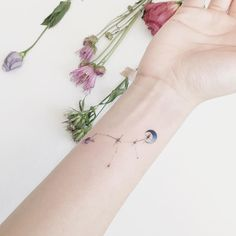 20 Tiny Watercolor Tattoos That Will Inspire You To Be Artsy AF – Elite Daily