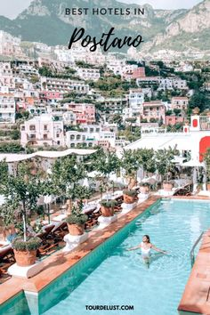 With so many stunning hotels in Positano it can be difficult to pick the best one. Here's my list of the best affordable and luxury hotels in Positano. Best Hotels In Positano, Positano Italy, Places To Travel, Travel Destinations, Places To Visit, Italy Travel Tips, Travel Europe, Travel Guides, Travel Inspiration