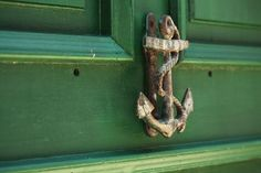 anchor doorknocker seaside cottage