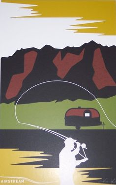 Vintage Fly Fishing - AIRSTREAM
