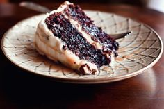 Chocolate Snickers Layer Cake