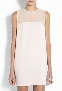 Joseph | powder crepe shift dress