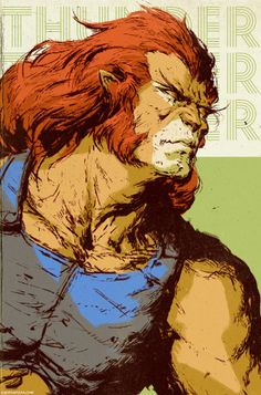 Thundercats - Lion-O by Dave Rapoza *