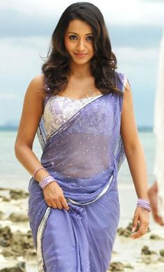 Awesome Lavender Saree!!!